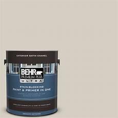 behr premium plus ultra 1 gal bwc 24 mocha light satin enamel exterior paint 985001 the home