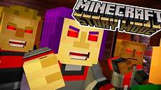 minecraft story mode episode 7 mind possessed evil townspeople minecraft story mode