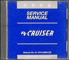 free car manuals to download 2002 chrysler pt cruiser electronic valve timing 2002 chrysler pt cruiser owner s manual original