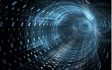 Futuristic Digital World Wallpaper