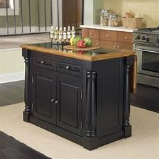 black oval granite tops kitchen island with seating monarch kitchen island with granite top wayfair black
