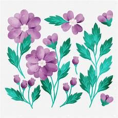 Blumen Malvorlagen Kostenlos Bearbeiten Vektor Gezeichnete Blumen Kostenlos Vector