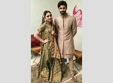 Yumna zaidi and saad qureshi   Pakistani fashion