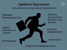 anzeichen einer depression agitierte depression die untypische depressionsart