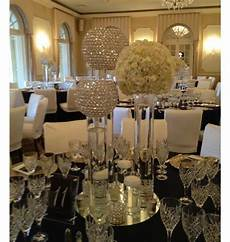 glass crystal stand flower stand for wedding decoration