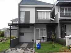Desain Rumah Sederhana 2 Lantai Minimalis Contoh Gambar