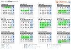 ferien thüringen 2019 kalender kalender 2019 ferien th 252 ringen feiertage