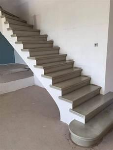 Escalier B 233 Ton Gris Liss 233 Nez Rond Marche De D 233 Part