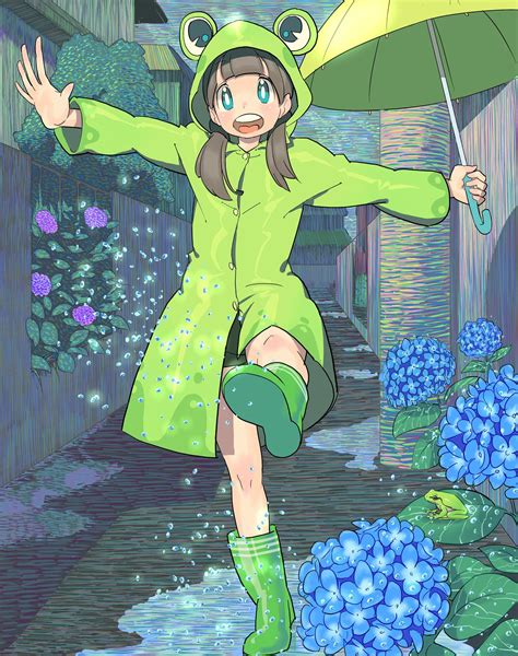 Anime Frog Girl