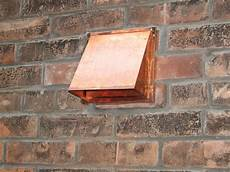 Bathroom Vent Fan Outside by Now That S A Wall Termination This Copper Is