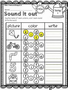 spelling worksheets vowel sounds 22449 free printables at preview sound it out vowel spelling math and literacy