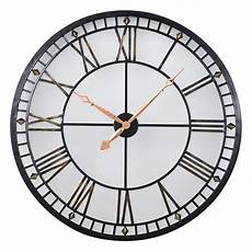 large light up metal skeleton wall clock mulberry moon