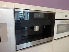 kaffeevollautomaten cva6800 edelstahl miele einbau