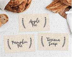 printable thanksgiving food labels template thanksgiving