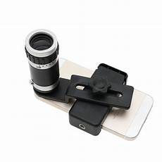 Universal Optical Zoom Lens Micro Telescope by Universal Mobile Phone Lens 8 X 18 Optical Zoom Lens Micro