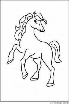 Pferde Ausmalbilder Malen Malvorlage Pferd Malvorlagen Pferde Pferde Bilder Zum