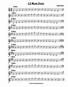 12 major scales learn jazz standards