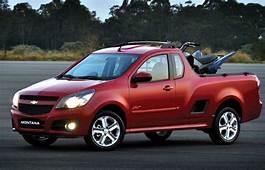 2011 Chevrolet Montana Debuts In South America