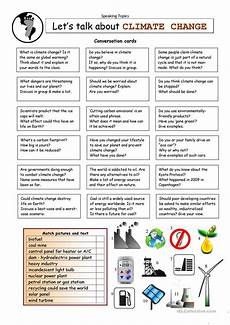 let s talk about climate change worksheet free esl printable worksheets made by teachers