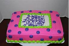 pink purple lime green 1 4 sheet cake cakecentral com