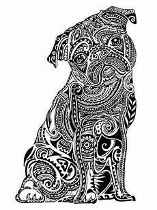 Ausmalbilder Tiere Muster Bildergebnis F 252 R Zentangles Muster Mops Kunst