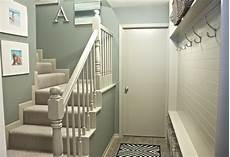 Stairwell And Mudroom Rev Before And After