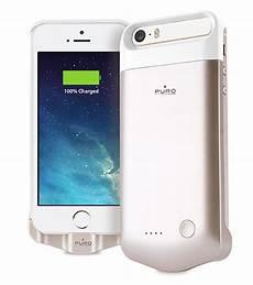 puro gold coque batterie powerbank pour iphone 5 5s se 2200mah