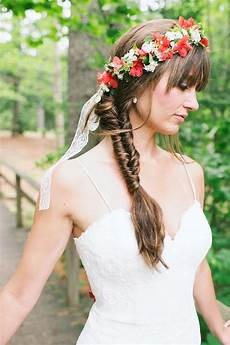 Fishtail Hair Style For Wedding With Veil 36 best wedding headdress images on bridal