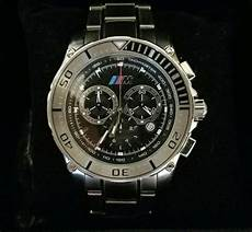 buy bmw m chronograph 80262220013 oem made by ronda