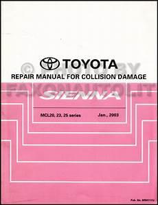 auto body repair training 2004 toyota avalon parental controls 2004 toyota sienna repair shop manual set original