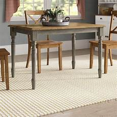 august grove sima solid wood dining table reviews wayfair