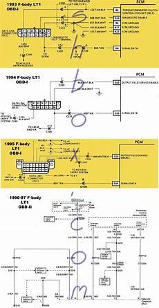 Obd2 To Obd1 Diagnostic Port Conversion Ls1lt1 Forum