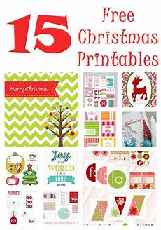 the almost perfectionist christmas printables