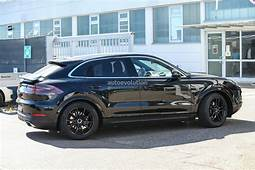 Spy Photos 2020 Porsche Cayenne Coupe Is Elegant With A