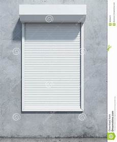 Fenster Jalousien Für Aussen - window with roller shutter stock photo image of material