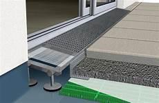 aco rinne terrasse gutjahr erweitert drainrost system aquadrain f 252 r