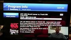television u at t uverse demo