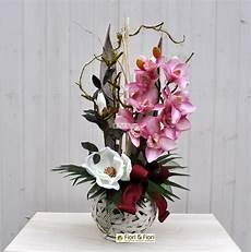 fiori composizioni composizione fiori artificiali jacqueline per arredamenti