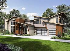 angular modern home plan with vaulted bonus room 23695jd architectural designs house plans