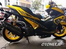 Modifikasi Motor Aerox by 100 Foto Modifikasi Yamaha Aerox 155 Keren Abis