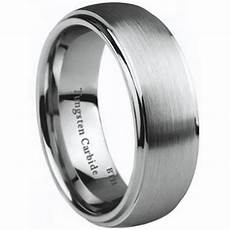 i love you engraved tungsten carbide wedding engagement
