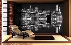 new york lights black white wallpaper murals by homewallmurals