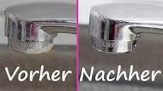 Stark Verkalkten Wasserhahn Richtig Entkalken Reinigen