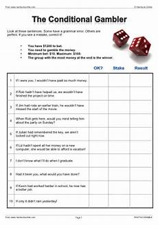 conditionals worksheets esl efl activities and lesson plans