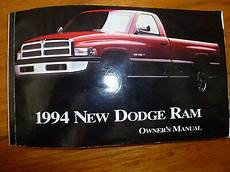 auto repair manual online 1994 dodge ram 1500 electronic toll collection c55 dodge ram pickup 1994 owners manual operators book 1500 2500 3500 ebay