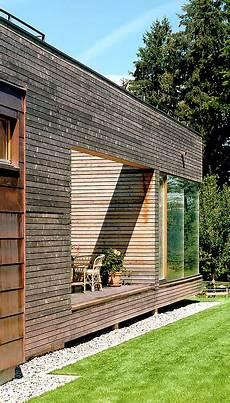 Energiesparh 228 User Holzhaus Auf Einem Sockel Aus Beton