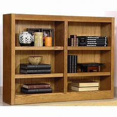 concepts in wood double wide 6 shelf bookcase 206543 office at sportsman s guide