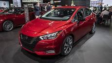 2020 nissan versa makes its debut autoblog