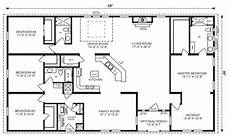 4 bedroom house plans with walkout basement favorite modular home floor plans ranch house floor