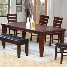 dark brown dining room casual dinette sets